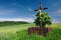 Kříž v polích východně od obce, Horní Štěpánov, okres Prostějov.jpg