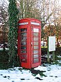 K6 telephone box in Buttlands Lane - geograph.org.uk - 1634040.jpg
