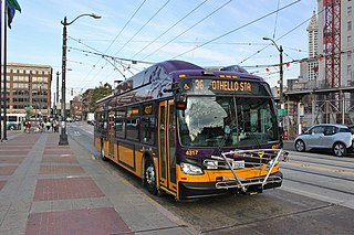 Electric trolleybus system serving Seattle, Washington