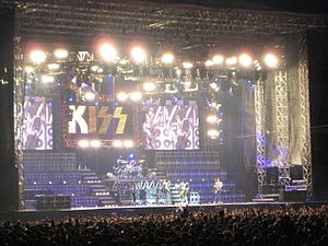 Alive 35 World Tour - Kiss at the Stockholms Stadion in Stockholm, Sweden May 30, 2008