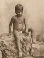 KITLV - 80018 - Kleingrothe, C.J. - Medan - Tamil girl, probably in Malaysia - circa 1910.tif