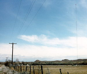 KNEU - The radio tower for KNEU is actually located in Uintah County, near Ballard, Utah.