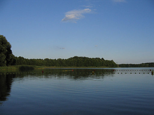 KOS Olsztyn jezioro Skanda