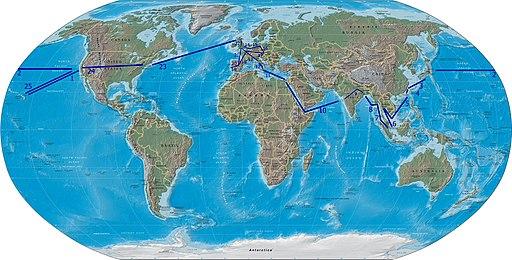 Kalakaua journey round the world