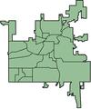 Kalamazoo neighborhoods unnumbered.png