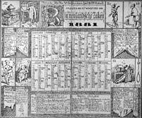 Kalender uit 1881 van het Ministerie van Binnenlandse Zaken naar een tekening van Victor de Stuers - 's-Gravenhage - 20411304 - RCE.jpg