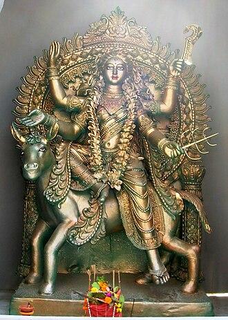 Kalaratri - She is also known as Shubhamkari, Kali, Bhadrakali and Mahakali