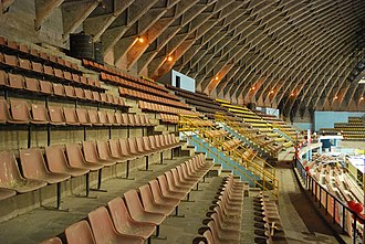 Kanteerava Indoor Stadium - Interior view of Stadium