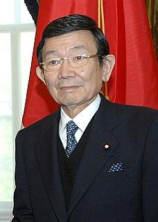 Japanese finance minister