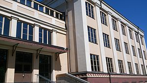 Katedralskolan, Uppsala - The institution building