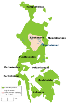 Kauhaneva–Pohjankangas National Park map.png