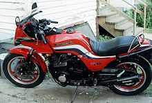 gpz750 without lower fairings