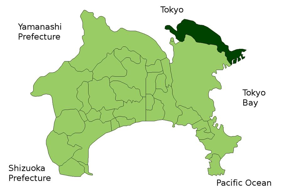 Kawasaki in Kanagawa Prefecture