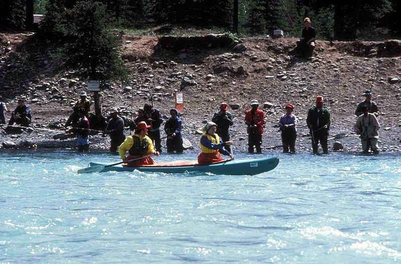 File kayaking and combat fishing on the kenai for Kenai river fishing