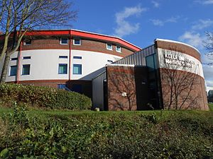 Keele University School of Medicine - Image: Keele University Medical School, Stoke on Trent