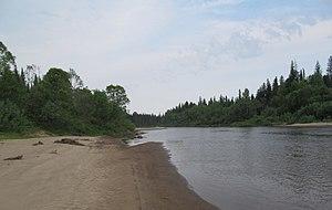 Birilyussky District - Kemchug River, Birilyussky District