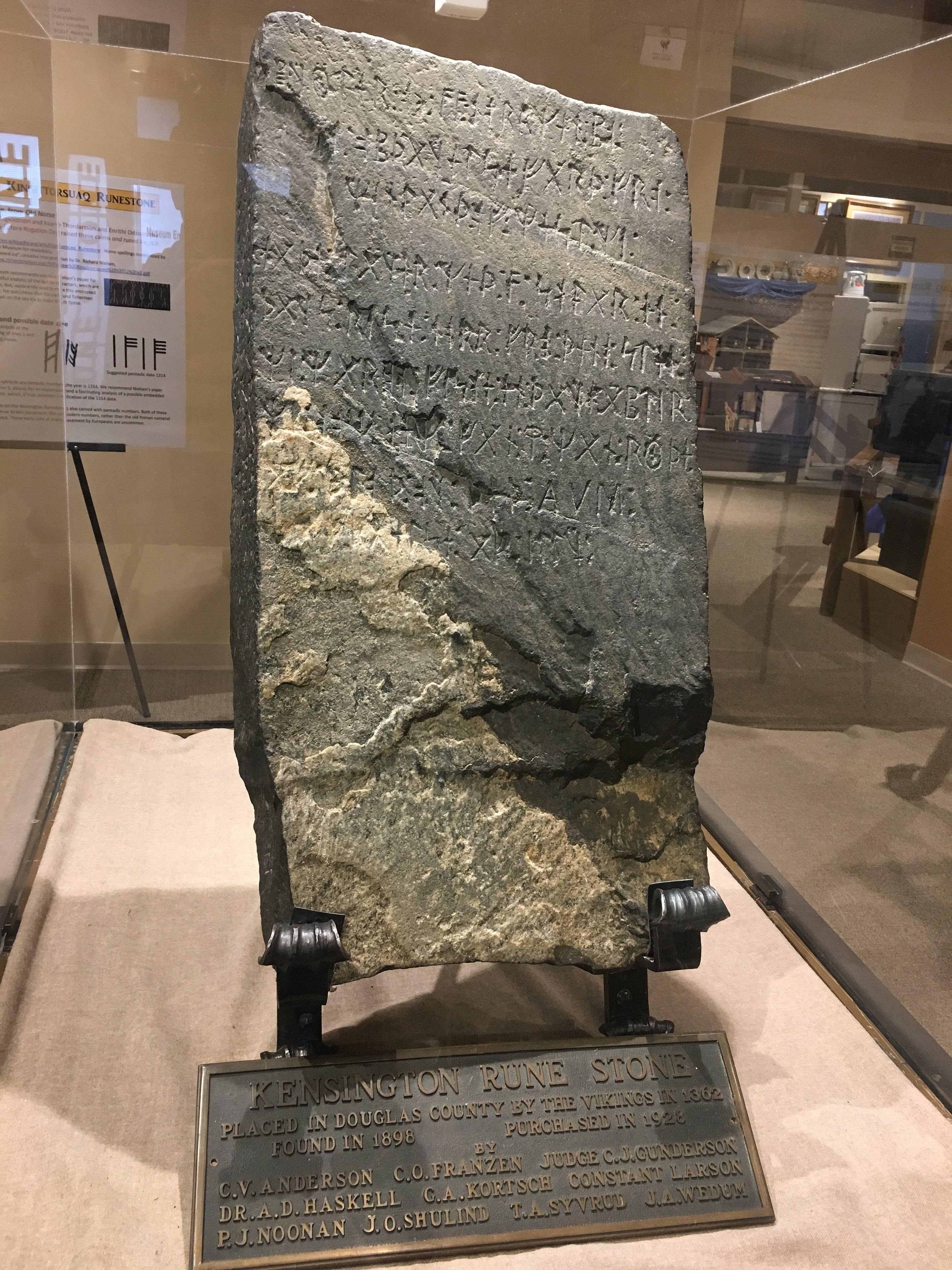 Resultado de imagen para The Kensington Stone