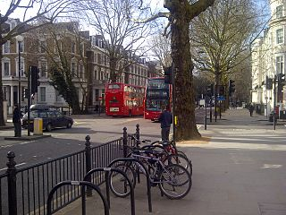 Street in the Royal Borough of Kensington and Chelsea