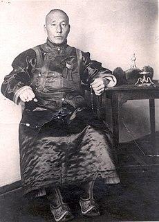 Khatanbaatar Magsarjav former prime minister of Mongolia
