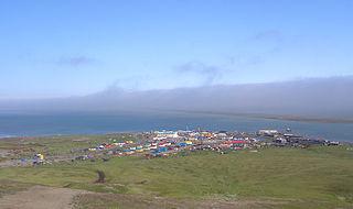 Khatyrka Selo in Chukotka Autonomous Okrug, Russia