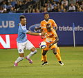 Khiry Shelton DaMarcus Beasley NYCFC vs. Houston Dynamo- 5-30-2015 (18103702399).jpg
