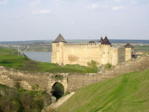 Khotyn - The Khotyn Fortress, located on the shores of the Dniester River.