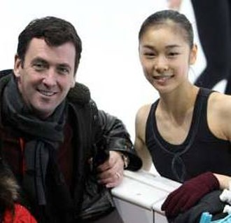 Brian Orser - Orser with Kim Yuna in 2007.