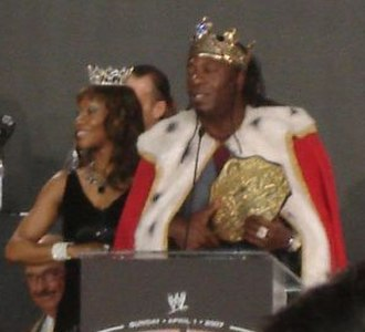 No Mercy (2006) - King Booker as World Heavyweight Champion.