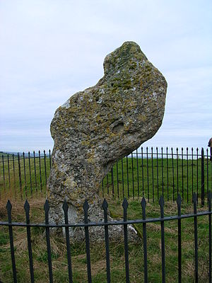 King Stone, Rollright Stones, Oxfordsire, England.