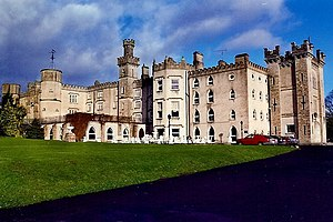 Kingscourt - Cabra Castle view from entrance driveway - geograph.org.uk - 1619780.jpg
