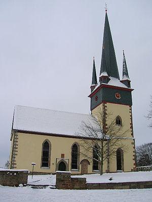 Haunetal - Neukirchen Evangelical Church, January 2006