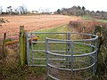 Kissing gate on the edge of Wallhope Grove - geograph.org.uk - 501287.jpg