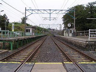 Mokichi Kinenkan-mae Station Railway station in Kaminoyama, Yamagata Prefecture, Japan