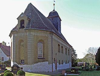 Kitzscher - The little church in Kitzscher