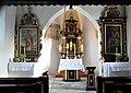 Klagenfurt Filialkirche Sankt Primus und Felizian im Steinbruch Innenraum 3 Altaere 12112008 55.jpg