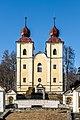 Klagenfurt Villacher Vorstadt Kreuzbergl Kalvarienbergkirche 29012018 2417.jpg