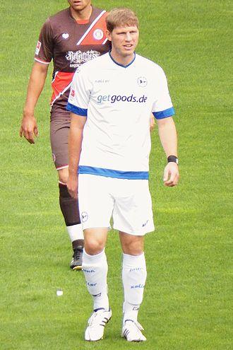Fabian Klos - Klos with Bielefeld in 2013.