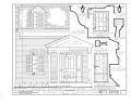 Knowles House, Fourth Street, Oquawka, Henderson County, IL HABS ILL,36-OQUA,2- (sheet 2 of 2).png