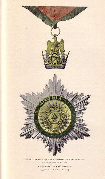 Archivo: Koechlin - Ordre de la Couronne de Fer (Codronchi) jpg.