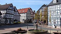 Korbach Rathausvorplatz 2011