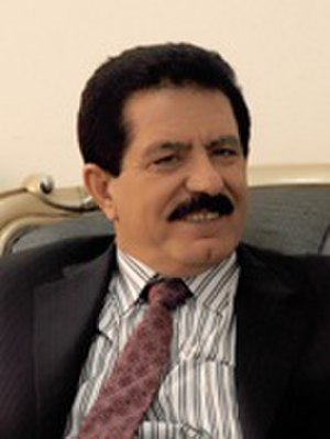 Prime Minister of Iraqi Kurdistan - Image: Kosrat Rasul