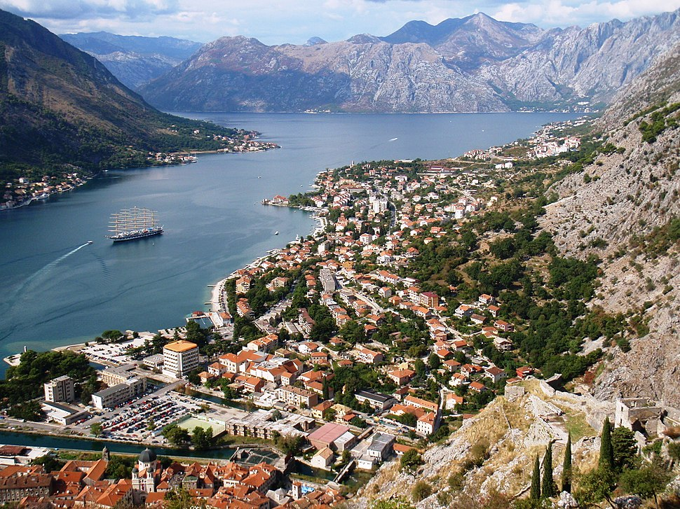 Kotor from the Kale - panoramio