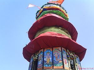 Shri Guru Kottureshwara Temple - This is the ratha in which Lord's idol is placed