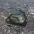 Koyaike Park from airplane window.jpg