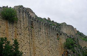 Kozan Castle - From northwest
