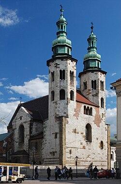Kraków, St. Andrew.JPG