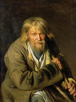 Ivan Kramskoi - Image: Kramskoi vanamees karguga