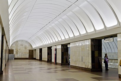 How to get to Крестьянская Застава with public transit - About the place