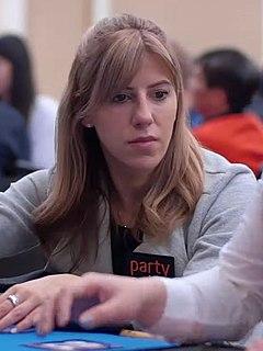 Kristen Bicknell Canadian poker player