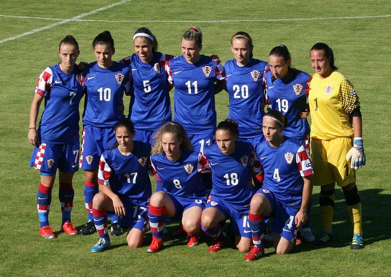 Datei:Kroatische Fußballnationalmannschaft der Frauen.jpg
